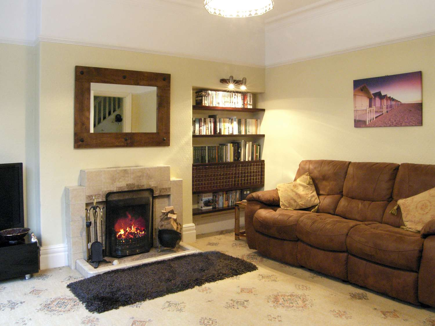 Living room - Self catering accommodation - Llandudno